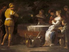 The Athenaeum - The Parable of the Prodigal Son: Riotous Living (Luca Giordano - )