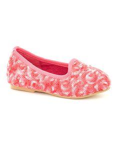 Another great find on #zulily! Pink Swirl Slipper Flat #zulilyfinds