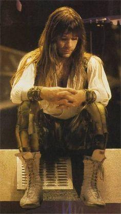 Bruce Dickinson - Iron Maiden - circa 1986 Somewhere in Time tour