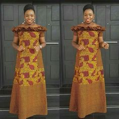 Ankara gowns can make you look good. Here are some lovely ankara gowns that can make you look good for your occasions. Latest African Fashion Dresses, African Dresses For Women, African Print Fashion, Africa Fashion, African Attire, Ankara Fashion, African Wear, African Prints, African Style