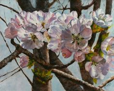 """Daily Paintworks - """"Spring of '13"""" by Julia Watson"""