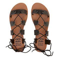 2a5263f6cf56bd Billabong Beach Brigade Sandal - Off Black Roman Sandals