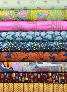 Anna Maria Horner for Free Spirit, Fibs and Fables, Noble in FAT QUARTERS 9 Total