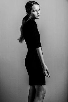 Photo: Liziczai Réka Model: Veca ICON Model Management Hair: Mazsola Szabo- Microphonehair mua: Anna Schneider Gray Color, Anna, Management, High Neck Dress, Grey, Model, Hair, Dresses, Fashion