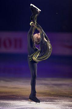 Julia Lipnitskaia, Russia, Black Figure Skating / Ice Skating dress inspiration for Sk8 Gr8 Designs.