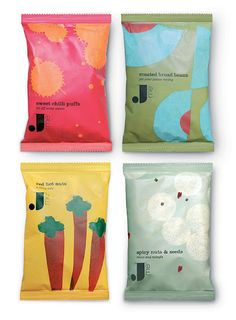 Jamie Oliver Chips by Pearlfisher & illustrated by Lucia Gaggiotti Chip Packaging, Fruit Packaging, Bottle Packaging, Brand Packaging, Packaging Ideas, Food Branding, Food Packaging Design, Packaging Design Inspiration, Branding Design