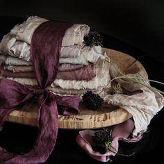 Custom Silk & Willow plant dyed silks.