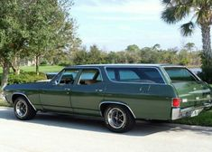 Chevelle station wagon.  Everyone had some type of wagon before SUVs!