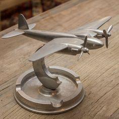 Decoration Archive Plane Ashtray - Vintage Accessories - Accessories