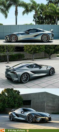 InstaCarros: Toyota FT1