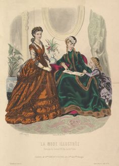 La Mode Illustrée 1869