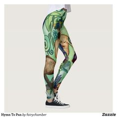 Shop Hymn To Pan Leggings created by fairychamber. Satyr, Wild Nature, Greek Gods, Greek Mythology, Leggings Fashion, Dressmaking, Watercolor Paintings, Illustration Art, Sew Dress