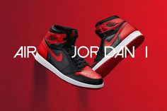 5a374a47503 Air Jordan 1 Retro High OG Banned Air Jordans Women, Nike Air Jordans, Retro