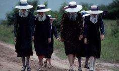 Mennonite women ,Bolivia