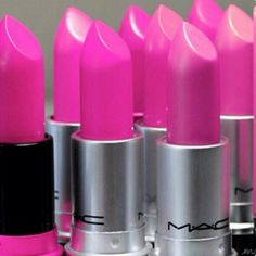 #lipstick #pink shades great as table decorations or party gifts for a #Barbie party theme !