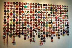 Start a long term project yarn bombing old CDs.