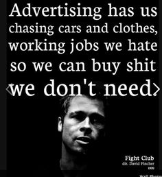 0aa32c3d36 Another Fight Club reminder posted on Pinterest because it makes me laugh a  lot. Re-pinned!