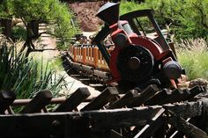 """Hold on to them hats and glasses, cuz this here's the wildest ride in the wilderness!""    Big Thunder Mountain Railroad  Disneyland, Anaheim, CA USA"
