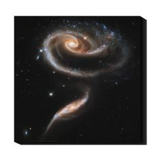 Interacting Galaxies 20x20, $79, now featured on Fab.  This and the one Star Birth Centaurus  Love  @Kerry Dilks @Eryn Todisman