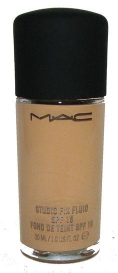 M.A.C Studio Fix Fluid foundation. My favorite base. [9.5/10]