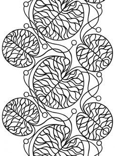 Bottna cotton - Pattern Designer: Anna Danielsson for Marimekko Textile Patterns, Textiles, Print Patterns, Marimekko Fabric, Scandinavia Design, Stoff Design, Black And White Fabric, Dibujo, Scrappy Quilts