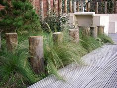 boardwalk to hidden garden Beach Theme Garden, Seaside Garden, Coastal Gardens, Beach Gardens, Outdoor Gardens, Garden Landscape Design, Landscape Architecture, Australian Native Garden, Contemporary Garden