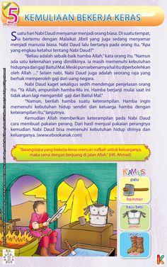Nabi Daud dan Kemuliaan Kerja Keras Kids Story Books, Stories For Kids, Improve Vocabulary, Guided Reading Groups, Reading Passages, Life Words, Close Reading, Kids And Parenting, Ramadan