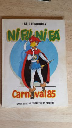 Cancionero de la Nifú Nifá del año 85. Carnaval de Santa Cruz de Tenerife.