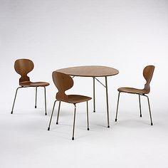 Arne Jacobsen Ant dining set