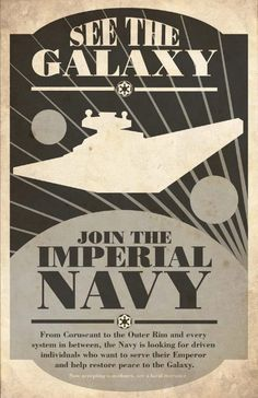 Imperial Navy recruitment.