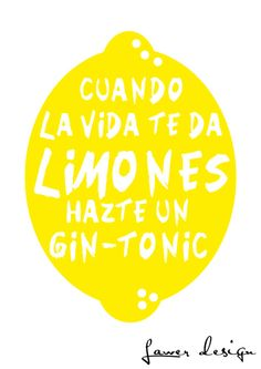 Looking on the bright side Calvin Y Hobbes, Lemon Quotes, Gin Lovers, Doodle Lettering, Frases Humor, Birthday Messages, Gin And Tonic, Relief Society, Life Humor