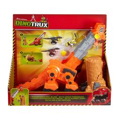 Dit is Skya. Half dinosaurus. Half truck en kraan. Zij wil samen met haar Dinotrux vrienden niets liever dan leven in een betere wereld. Werkelijk alles doen zij eraan om dat voor elkaar te krijgen en ze strijden tegen iedereen die tegen dat plan is. Deze grote Skya zorgt ...
