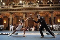 Exhibition lesson. Duel for Friendship ASCOT Escrima IV Monaco 14.09.2013