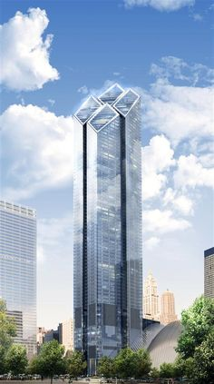 Two World Trade Center (200 Greenwich Street) | 1,350 ft | Lord Norman Foster