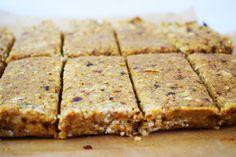 Healthy - No Bake Meal Prep Breakfast Bars