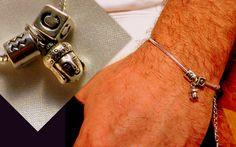 Mens+Silver+Buddha+Bracelet,+Zodiac+&+Iinitials+from+CamelysUnikatBijoux+by+DaWanda.com