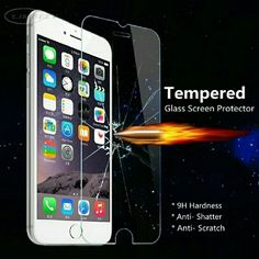 Tempered glass screen protector *if you like, please like & share*  ✿THANK YOU FOR STOPPING BY MY CLOSET✿  -Tempered Glass Screen Protector +ADD to case order $5  BUY SEPARATED $12 Iphone 6/6s/6+/6+S  Features:  1. 9H hardness  2. Anti-fingerprint coating  3. Unrivaled touch sensitivity  4. HD optical transmittance  5. Easy installation 6. Ultra thin, approx 0.3mm, ultra durable✔ 7. 2.5D Surface Accessories Phone Cases