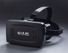 ULIKE™ VR 3d virtual reality magnet control glasses helmet for 4~6inch smartphone iphone 6s plus Galaxy Note 5 S6 Edge Plus LG G4 Sony z4 HTC M9 Plus - Adjustable Pupillary Distance (Black)  //Price: $ & FREE Shipping //     #hair #curles #style #haircare #shampoo #makeup #elixir