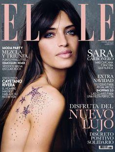 Sara Carbonero - Elle Magazine Cover [Spain] (December 2012)