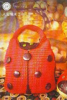Bolsas a crochet para niñas#