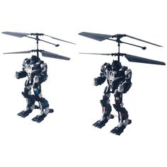 RC Robots Pair 2 Remote Control Battle Toys Battery Powered Battling 32 FT NEW #SPACEGATE
