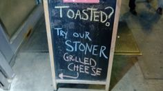 Stoner Grilled Cheese