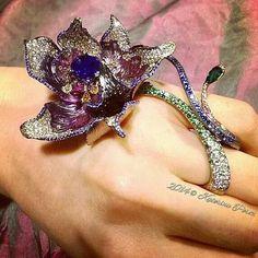 Biennale 2014 preview: Wallace Chan Titanium Flower Ring