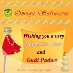 Happy Gudhi Padwa 2015 for http://omega-sys.com/