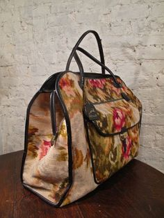 60s Koret Carpet Bag - Carry On Luggage