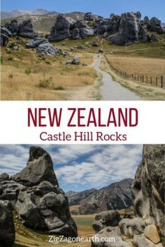 Kura Tawhiti Castle Hill Rocks in New Zealand -- #newzealand | New Zealand Travel Guide | Things to do in New Zealand Island | New Zealand photography | New Zealand Road Trip | New Zealand scenery | New Zealand travel tips | New Zealand itinerary | #Travel | Travel Inspiration | Scenery & Wanderlust | Best Travel destinations