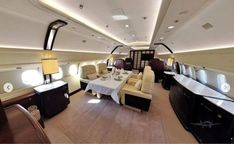 M-KATE Airbus A319 interior (Rybolovlev) Dmitry Rybolovlev, House Yacht, As Monaco, Private Jets, Net Worth, Interior, Home Decor, Decoration Home, Indoor