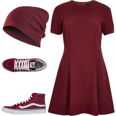 Super Cute by prettyiceballos on Polyvore featuring polyvore fashion style River Island Vans