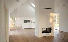Billedresultat for stue med loft til kip House Design, New Homes, House Styles, South African Homes, House Rooms, Home, Shed Homes, Minimalist Home, Great Rooms