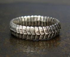 Snake Ring Serpent Band, .925 Sterling Silver